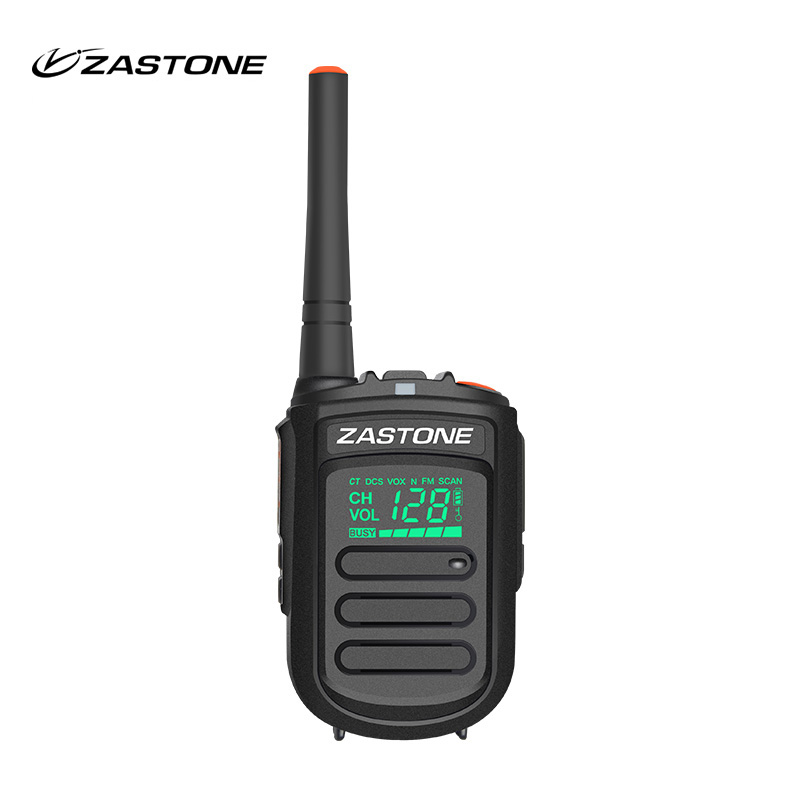 Zastone MINI9 UHF 400-470MHz Toy Walkie Talkie Bærbar Mini Radio HF Transceiver Håndholdt radiokommunikator for jakt