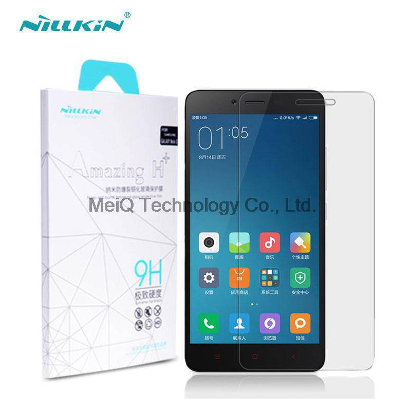 Xiaomi Redmi Note 2 Screen Protector Nillkin Amazing H Anti Explosion font b Tempered b font