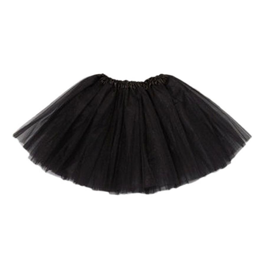 2019 Hottest Girl Princess Petti Skirt Party Ballet Tutu Skirt Mini Baby Kids For Girls Candy Color  Mini Skirt Tutu Skirt