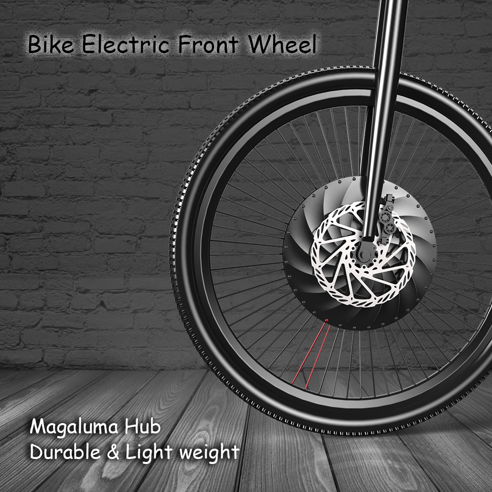 700x23c Front Wheel Electric Bicycle Disc/V Brake Hub Motor Kit 36V 240W Powerful Motor E-Bike Conversion with Battery e bike 24v 800w motor with disc brakes hub electric bicycle ebike conversion kit front or rear wheel new details about
