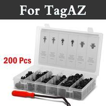 200 pz Auto Premium Strumenti di Rimozione di Rimozione Rivetti Per Tagaz Aquila C10 C190 C-Road Partner Tager Vega Set Styling