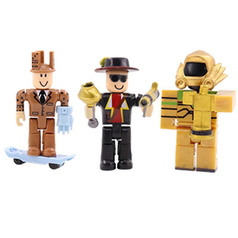 6 pçs/set Juguetes Brinquedo Figuras de Ação Jogos Modelo 7 centímetros PVC Anime Figura Dos Desenhos Animados do Presente do Natal Brinquedos Para Crianças # E