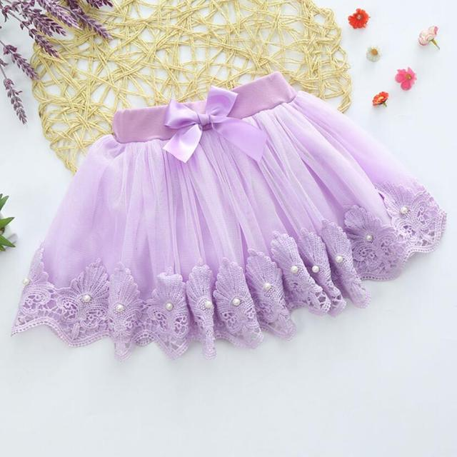 5-10Y Children Kid Baby Girl Skirt Multilayer Tulle Party Dance Cake Tutu Skirts cotton lace girls Chrismas skirt