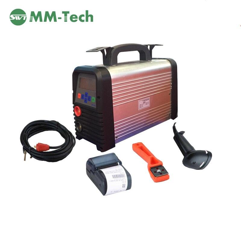 Electrofusion сварочный аппарат для 20-200 мм HDPE electrofusion фитинги