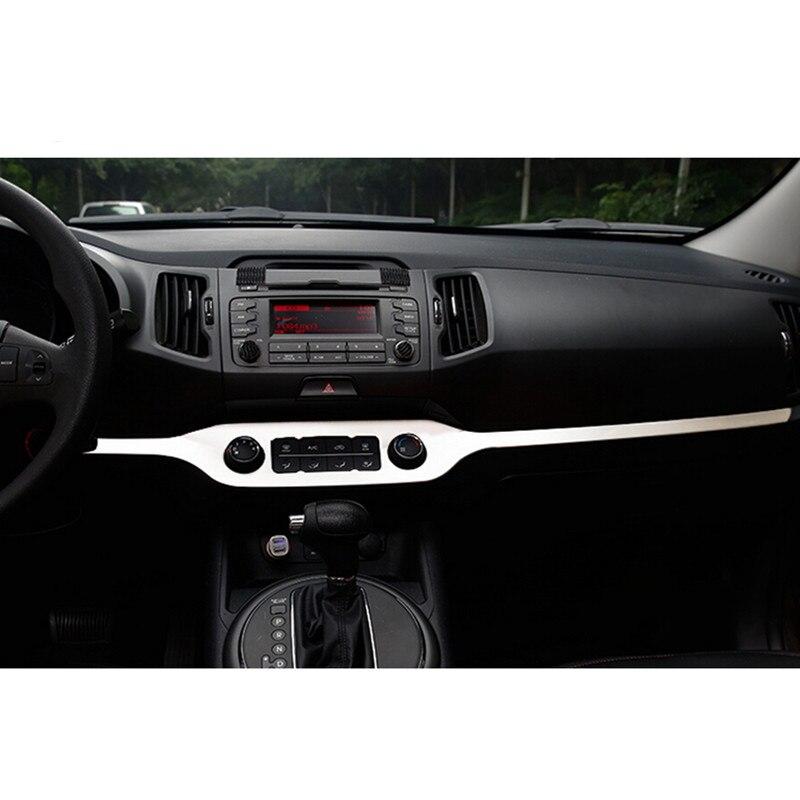 Car Styling Central Control Decoration Trim For Kia Sportage R 2010 2011 2012 2013 2014 2015
