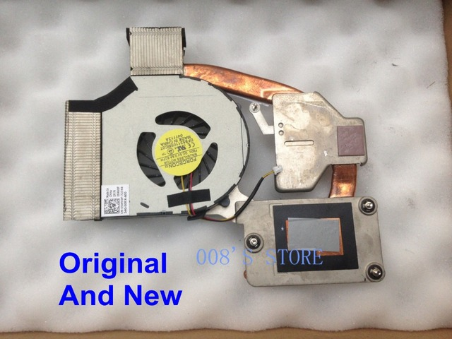 Original New Laptop CPU Cooling Fan And Heatsink For Dell Vostro 3300 V3300 FORCECON DFS531105MC0T 60.4EX16.002 5WV0F 05WV0F
