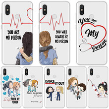 Чехол для Xiao mi Pocophone F1 mi 8 9 A2 A1 Lite CC9 Explore ore SE mi x 2S 5 You'm My Person GREYS Anatomy Coque Case для mi 9T Pro(China)