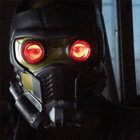 Guardians Of The Galaxy Vol 2 Star Lord Helmet Cosplay Mask Prop LED Lights