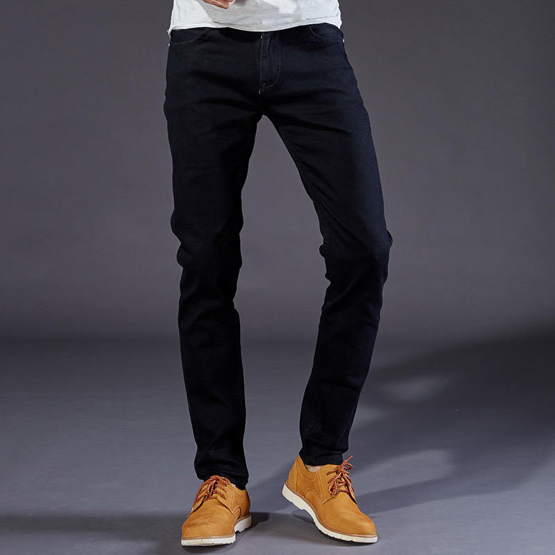 2018 Mens Blue Jeans Slim Fit Stretch Denim Casual Quality Pants Business Trousers 30 32 34 35 36 38 40 42 Pants Trousers