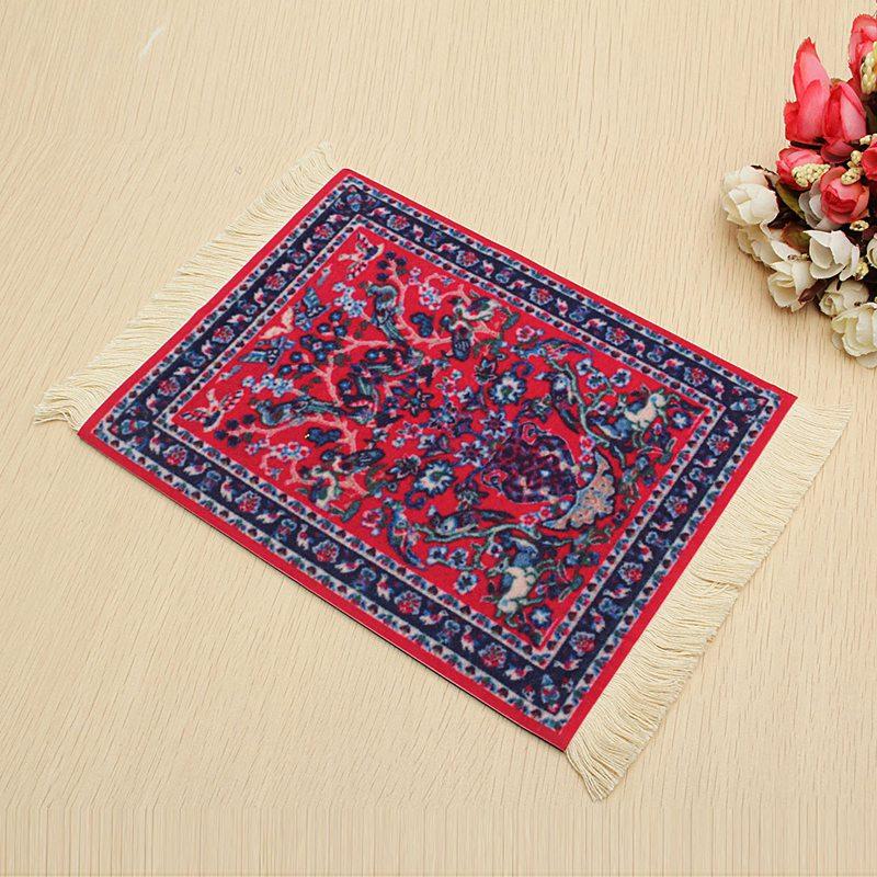 280 x 180mm vintage tablet mat carpet mouse pad rubber for Decor 6 tablet