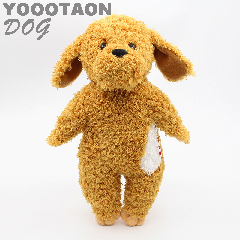 YOOOTAON kAWAII dog plush kids toys baby stuffed dolls for children girls kids toys 34cm high quality fancytrader new style giant plush stuffed kids toys lovely rubber duck 39 100cm yellow rubber duck free shipping ft90122