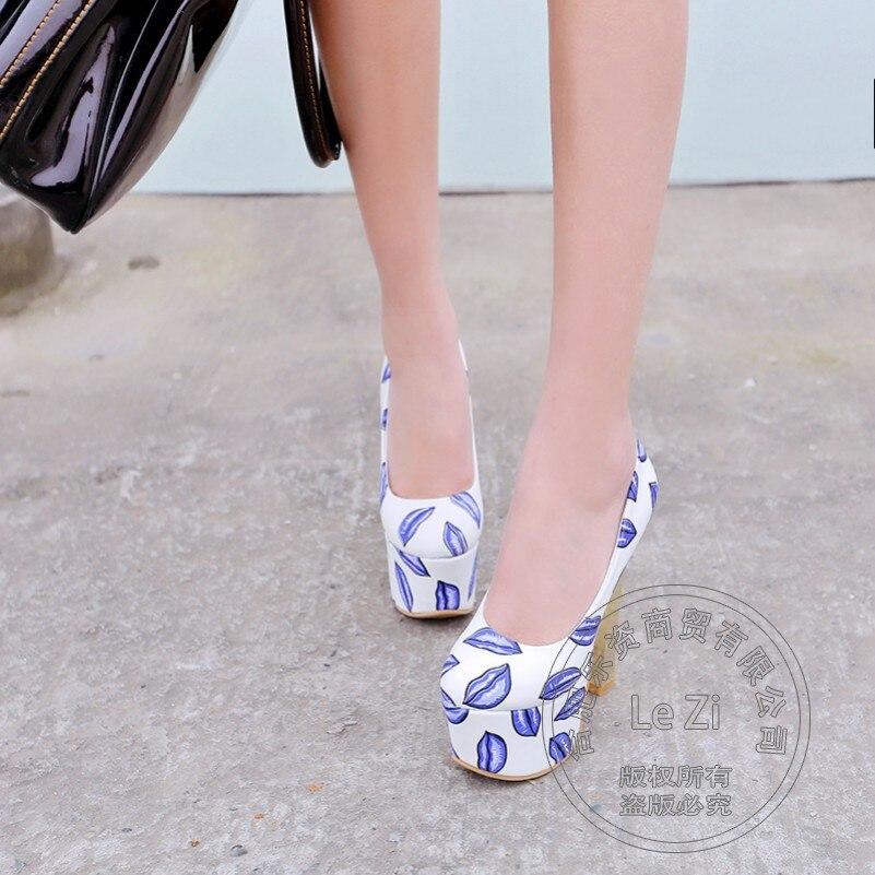 font b Women s b font Dress Thick Chunky Extreme High Metallic Heels Heeled Slip