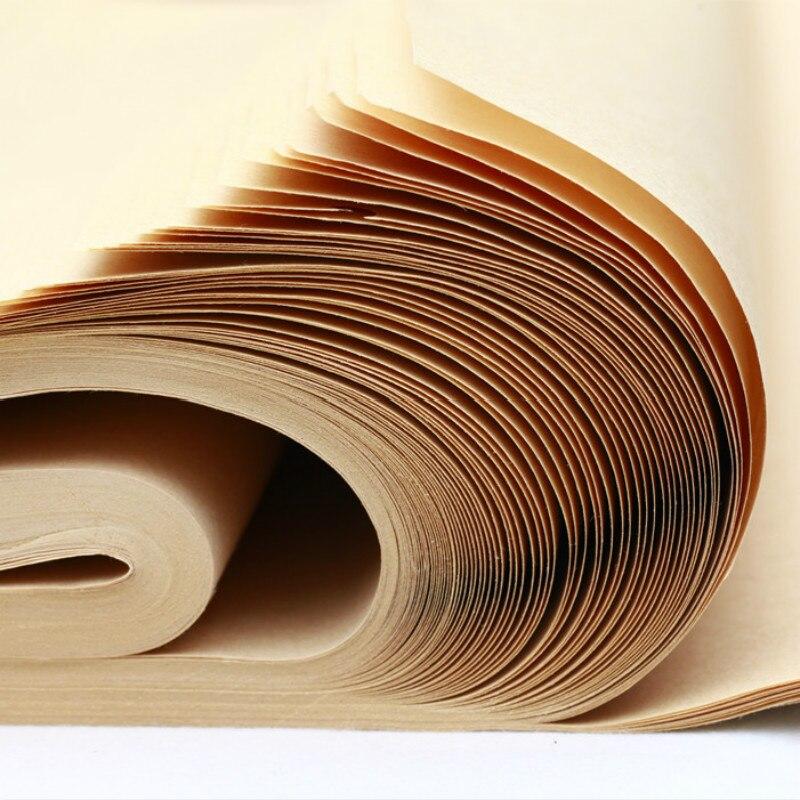 Caderno de Papel de Arroz Pçs/set Chinês Half-prima Meio-maduro Papel