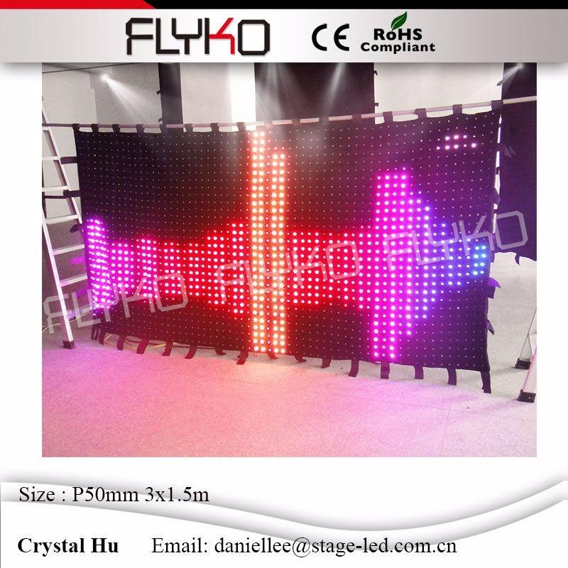 LED video curtain79