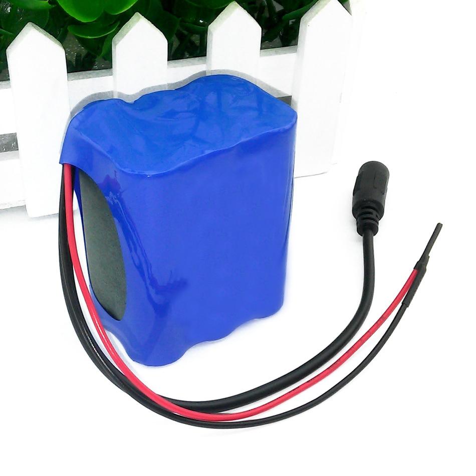 Conjunto de Bateria 12 v 4400 mah 18650 Tipo : Li-ion