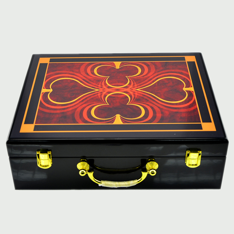 Top grad luxury portable wooden box 500 yard chips poker can carry 500 chips code case with 5 shelves man creative giftTop grad luxury portable wooden box 500 yard chips poker can carry 500 chips code case with 5 shelves man creative gift