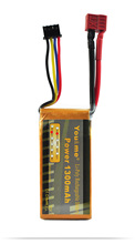You&me lipo battery 11.1V 25C 1300mAh 3S for rc accumulators  helicopters