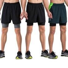Willarde мужские тканые шорты 2 в 1 для тренировок с компрессионной подкладкой для бега, фитнеса, йоги, тренировки