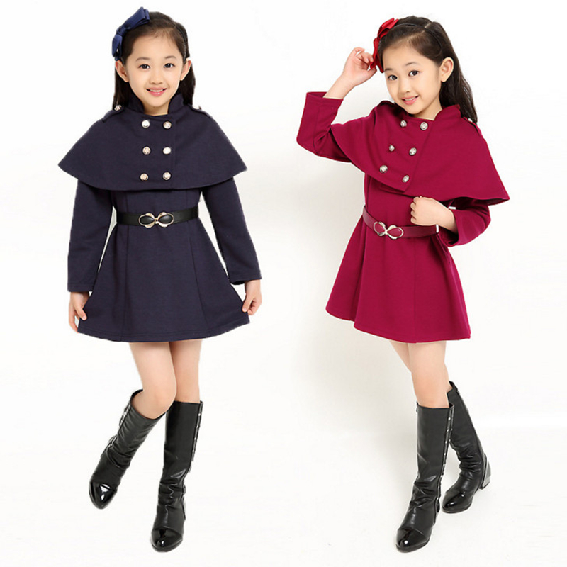 2018 Spring Autumn Girls Clothing Dress Children Girls Dress Long Sleeve Cotton Girls Clothes 4 5 6 7 8 9 10 11 12 13 14 Years children s spring and autumn girls bow plaid child children s cotton long sleeved dress baby girl clothes 2 3 4 5 6 7 years