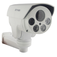 CTVMAN Outdoor PTZ IP Camera With 16GB SD Card 10X Zoom Full HD 1080P 2MP Support