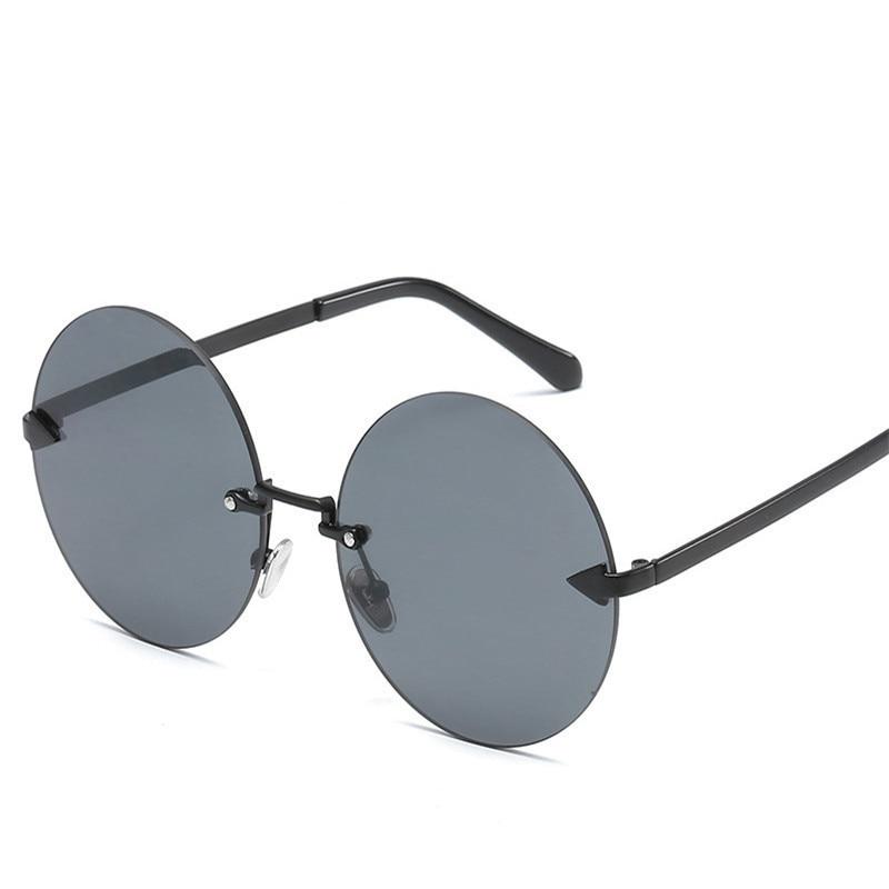 Retro Arrows Round Sunglasses Brand Designer Steampunk Women Men Sun Glases Mirror Female Sport Sunglass Oculos De Sol Feminina