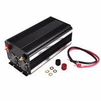 Модифицированная синусоида автомобильный инвертор DC12V к AC220V Универсальный Стандартный/DE Стандартный 3000 Вт Алюминий Корпус Высокая эффекти