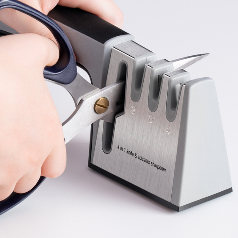 [Vidéo] Aiguiseur Diamant cuisine Outils Couteau en acier inoxydable affûtage affûteur pour couteau ciseaux lapidation couteau slicker