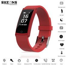 Роскошные Смарт-браслет IP68 сердечного ритма Мониторы крови кислородом Давление шагомер спортивные прогноз погоды для Samsung для Iphone