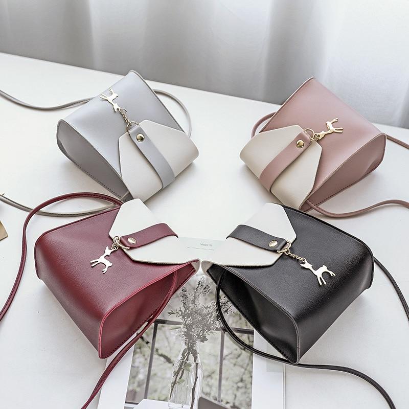 Women's Bag Messenger-Bag Student Shoulder Matching Mini Casual Mobile-Phone