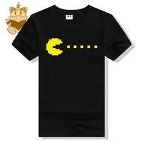 Rétro jeu t-shirt FC classique jeu Pac man jeu fans t-shirt hommes de coton t chemises ac481