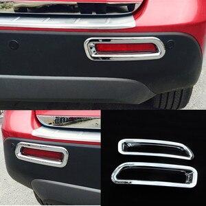 Image 5 - ABS Bicromato di Potassio Per Suzuki Vitara Escudo 2015   2019 Frontale Testa/Posteriore per Nebbia/Lampada di Coda Luce Freno di Stampaggio contorno Copertura Trim