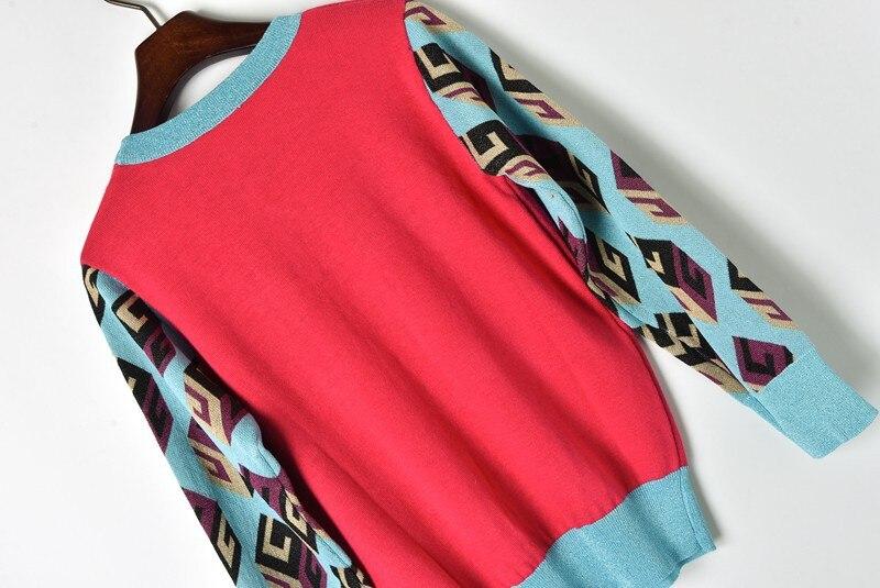 motif chandail States tricoté