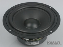 1pcs KASUN HI-FI series woofer loudspeaker QA-6100 6.5 inch mid-bass mid bass woofer speaker 130W 8 ohm for amplifier