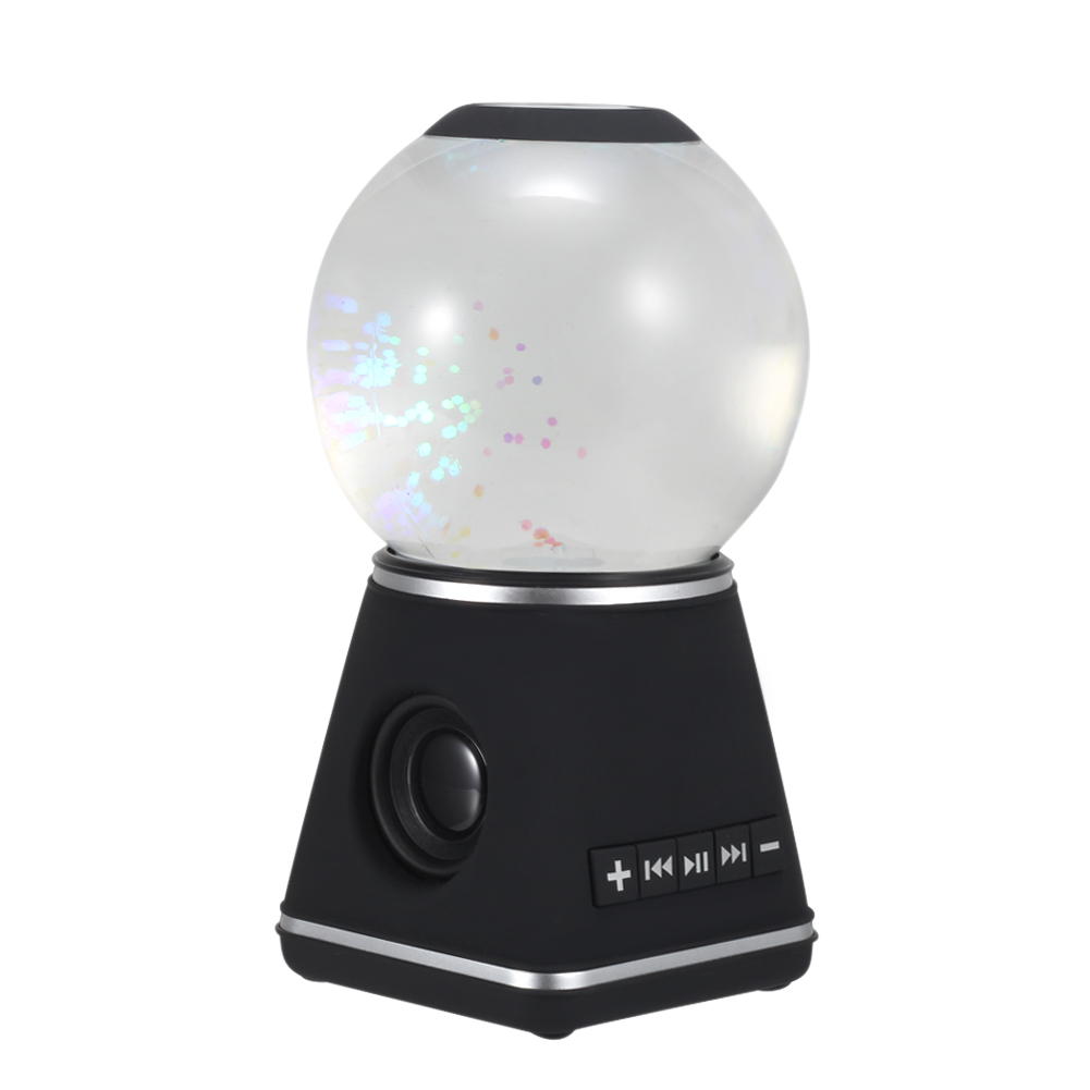 Bluetooth Speakers with Crystal Ball Wireless Portable Speaker for Home Car JLRJ88