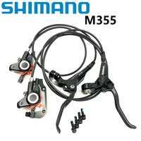SHIMANO BL BR M355 Hydraulische Scheiben Bremse Vorne Hinten Bremssattel * Hebel Mit Pads MTB Mountainbike Disc Bremse zubehör