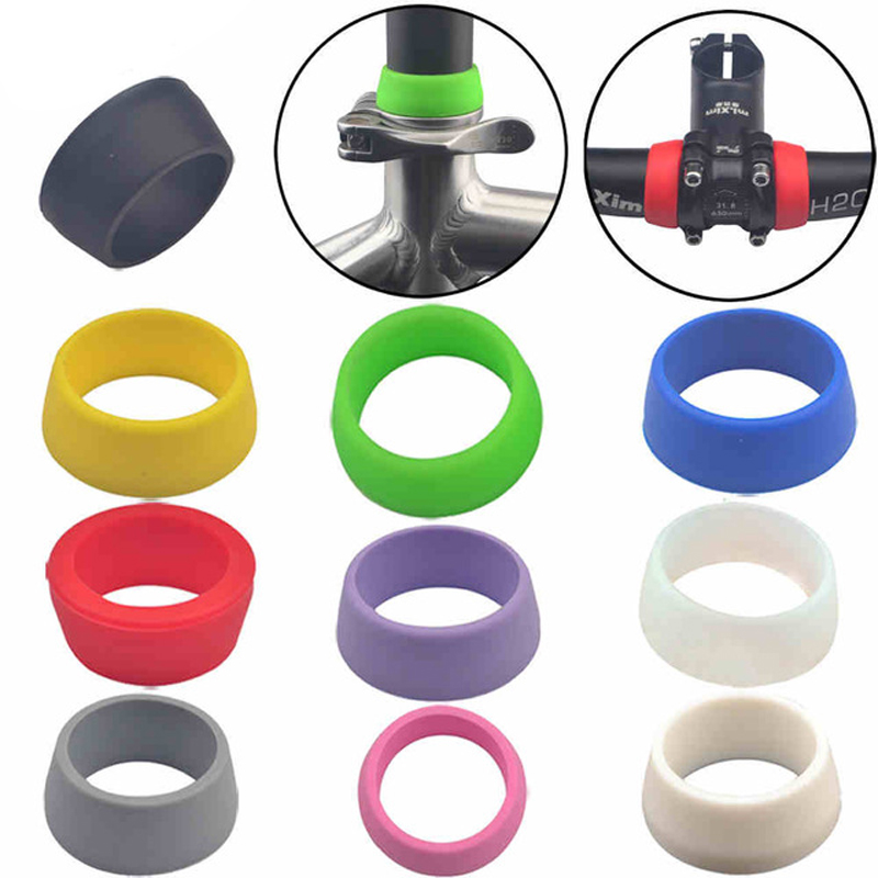 BIKE BICYCLE CARBON SEAT POST PROTECTED SEAT CLAMP 27.2