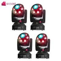 30 Вт Светодиодный прожектор + 6x8 Вт мыть свет DMX512 перемещение головного света Китай поставщик завода для распродажа