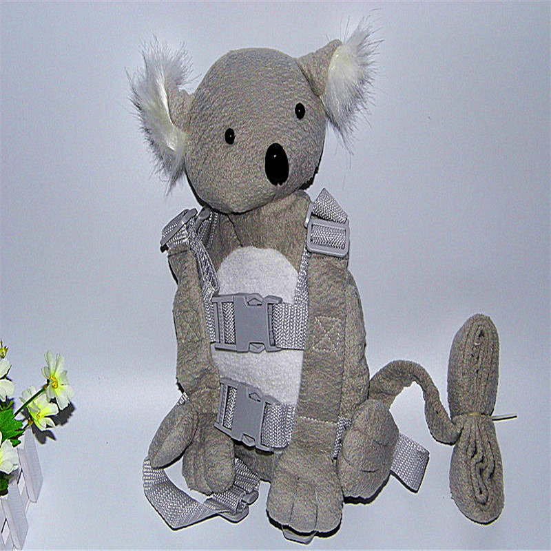2 In 1 Harness Buddy Koala Bear Babi Safety Animal Backpack Walking Reins Toddler Leashes