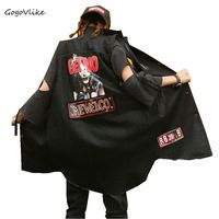 Women Jean Vest Black 2018 Women Spring Street Punk Denim Outwear Street Appliques Sleeveless Special Design