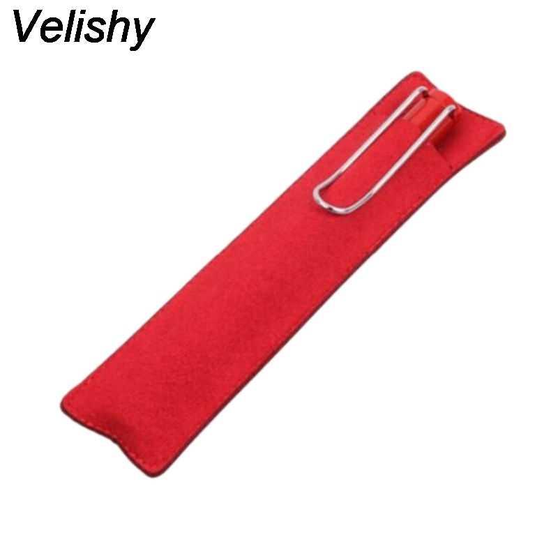 Velishy 1 шт. дорожный органайзер для ювелирных изделий клатч Сумки 6 цветов Новый портативный маленький длинный косметический чехол из искусственной кожи