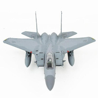 1/100 scale American US Navy Army Air force fighter attack military aircraft airplane model toy F 15 for display show collection