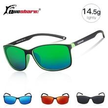 QUESHARK Lightweight Polarized Fishing Sunglasses Uv400 TR90 Frame Fisherman Hiking Camping Skiing Glasses Sport Fishing Eyewear