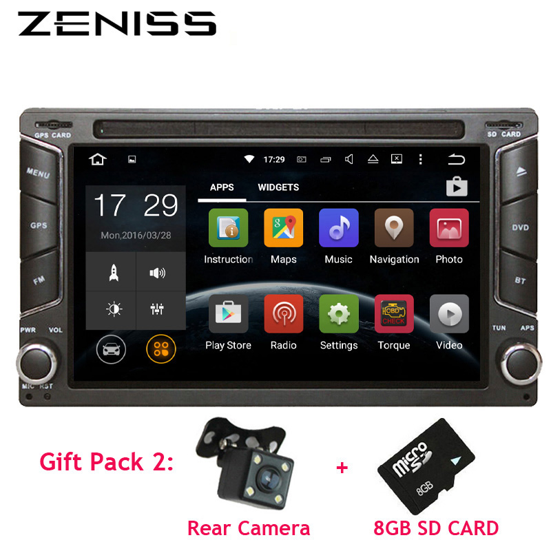 Free shipping Android 6.2'' Double Din Car DVD Player 2DIN DVD Car GPS Universal Car Stereo System with Car Radio Navigator