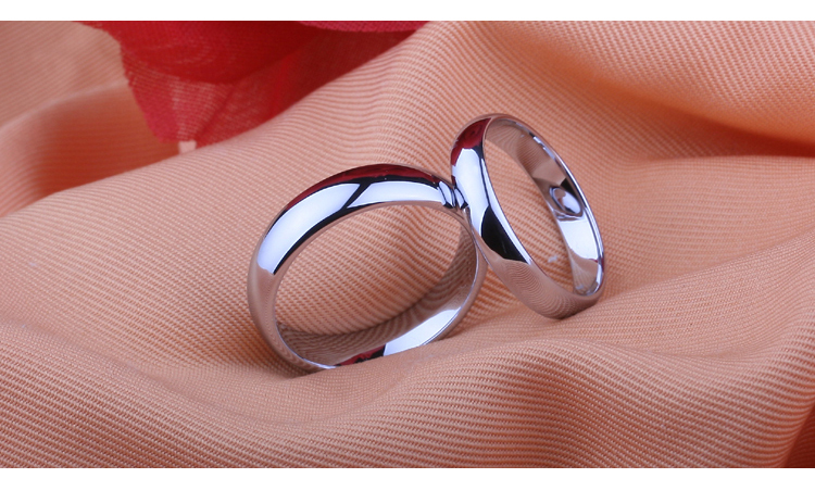 Free shipping Gold color tungsten wedding bands ring couple ring