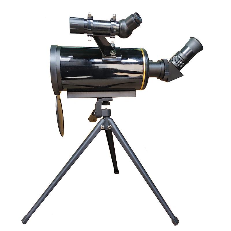 Télescope astronomique Compact 90/1000 maksutov-cassegrain monoculaire à longue focalisation avec 5x24 outils d'observation spatiale