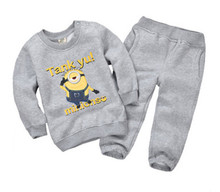 Retail children's clothing newborn autumn and winter newborns quality underwear suit long sleeve baby clothes/child clothing set