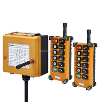 F23 A++ 12V AC DC Controller (2 Transmitters+1 Receiver) UTING CE FCC Industrial Wireless Radio Remote Control for Hoist Crane
