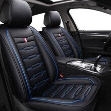 Wysokiej jakości PU Leather Cartoon pokrowce na fotele samochodowe dla Ford focus mondeo 2 3 kuga Fiesta Edge Explorer fiesta fusion akcesoria samochodowe