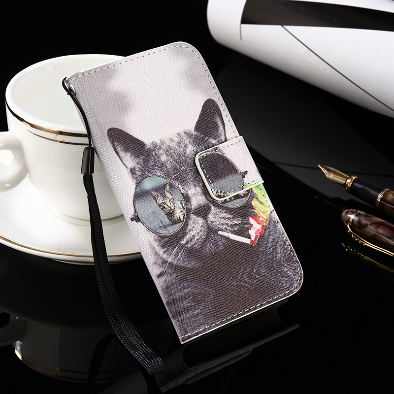 for iMAN Victor S AGM X1 THL Knight 1 Huawie Nova Smart Case Flip Leather Case Phone Slip-resistant Cover Wallet Style ...