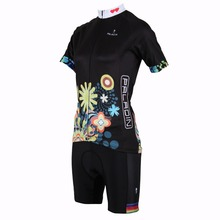 2015 Woman bike bicycle cycling jersey+ short outdoor clothes woman Sportwear Breathable bike clothes female anti-pilling
